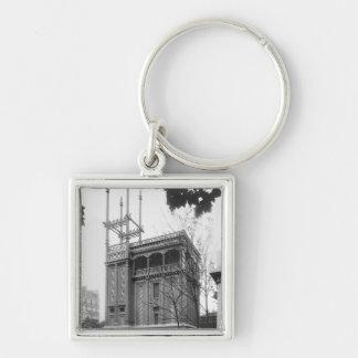 Phoenician House, Universal Exhibition, Paris Key Chain