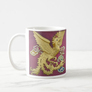Phoenix And Dragon Mug