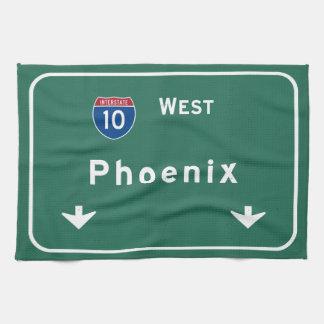 Phoenix Arizona az Interstate Highway Freeway : Hand Towels