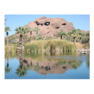 Phoenix Arizona Landmark-Hole in the Rock Postcard
