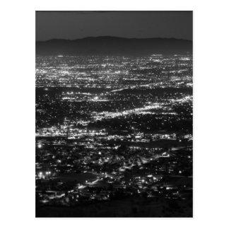 Phoenix Arizona Lights at Night Postcard
