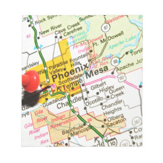 Phoenix, Arizona Notepad