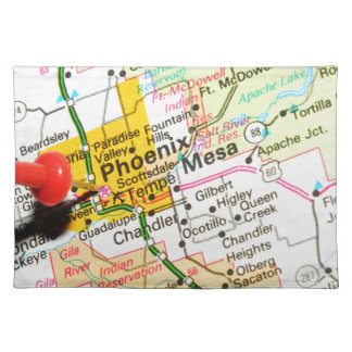 Phoenix, Arizona Placemat
