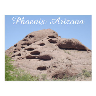 Phoenix Arizona Rock Formation Mountain Postcard