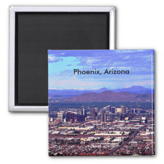 Phoenix, Arizona Skycape in Daytime Fridge Magnet