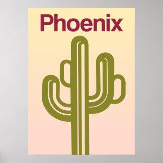 Phoenix, Arizona travel poster