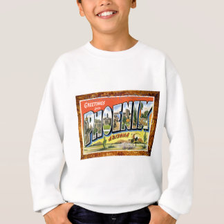 Phoenix Arizona Vintage Travel Postcard Sweatshirt