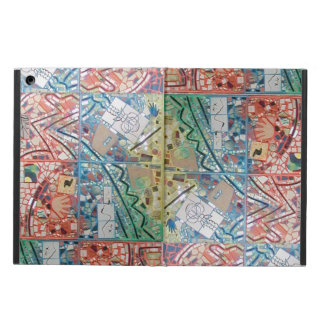 Phoenix Art Patchwork Mosaic Computer Kickstand iPad Air Case