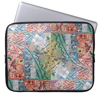 Phoenix Art Patchwork Mosaic Laptop  Sleeve/Case Laptop Sleeve