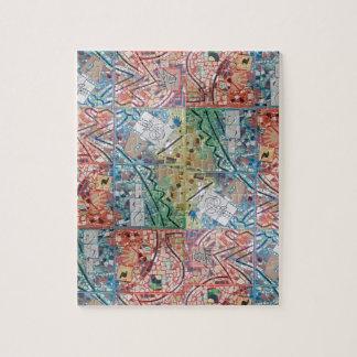 Phoenix Art Patchwork Mosaic Puzzle