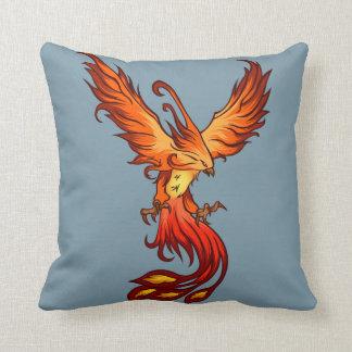 """Phoenix Art Throw Pillow 16"""" x 16"""""""