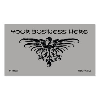 Phoenix Bird Business Card