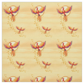 Phoenix Bird Rising 2 Fabric