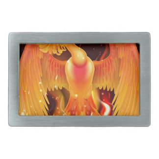 Phoenix Bird Rising From Ashes Belt Buckles