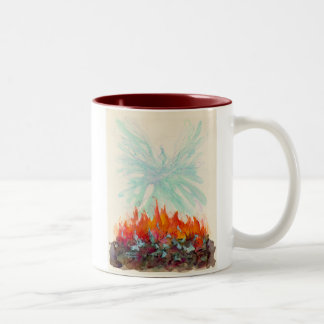 PHOENIX BIRD Two-Tone COFFEE MUG