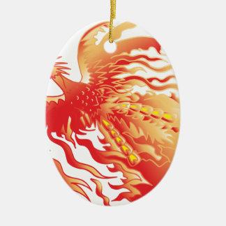 Phoenix Ceramic Ornament