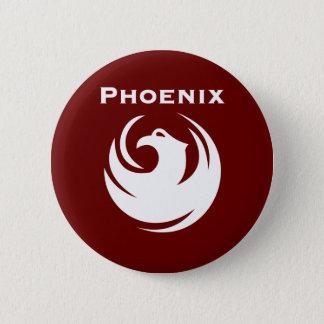 Phoenix city flag 2 inch round button