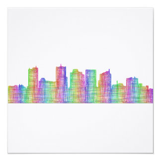 Phoenix city skyline card