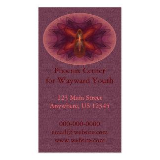 Phoenix Egg Abstract Art Business Cards