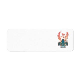 Phoenix Étiquette D'adresse Retour