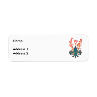 Phoenix Étiquettes D'adresse Retour