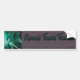 Phoenix Faerie Festival Bumper Sticker