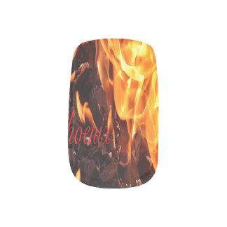Phoenix Fake Nails Minx Nail Art