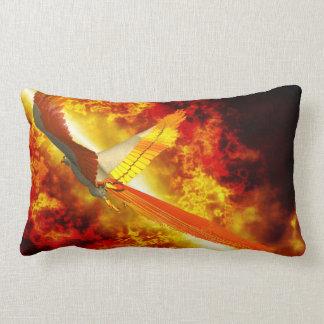 Phoenix Fantasy Gothic Lumbar Pillow