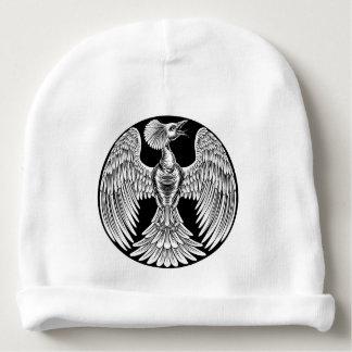 Phoenix Fire Bird Design Baby Beanie