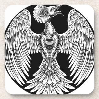 Phoenix Fire Bird Design Coaster