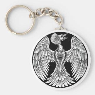 Phoenix Fire Bird Design Keychain
