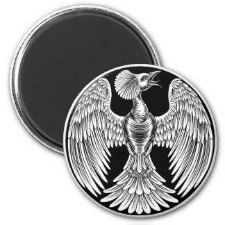 Phoenix Fire Bird Design Magnet