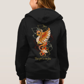 Phoenix Girl's Zip Up Hoodie