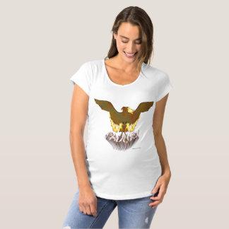 Phoenix Golden Maternity T-Shirt