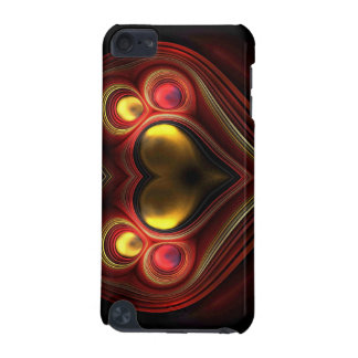 Phoenix Heart Fractal iPod Touch (5th Generation) Cases