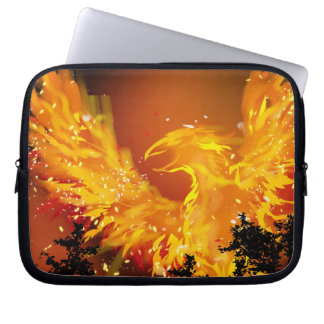 Phoenix in Flight Laptop Sleeve