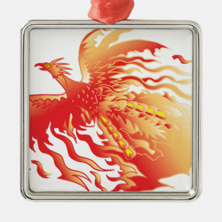 Phoenix Metal Ornament