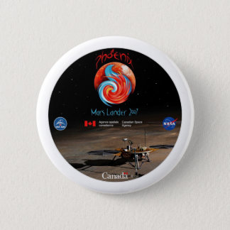 Phoenix Mission Patch CSA 2 Inch Round Button