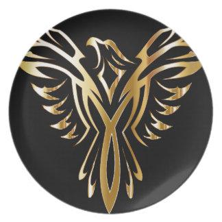 phoenix- plate