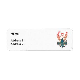 Phoenix Return Address Label
