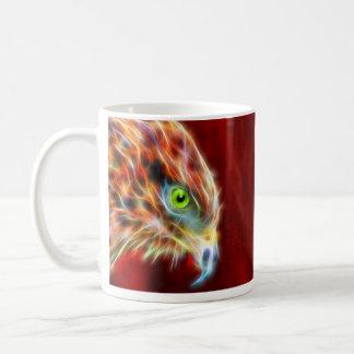 Phoenix Risen Fractal Classic White Mug