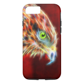 Phoenix Risen Fractal iPhone 7, Tough iPhone 7 Case