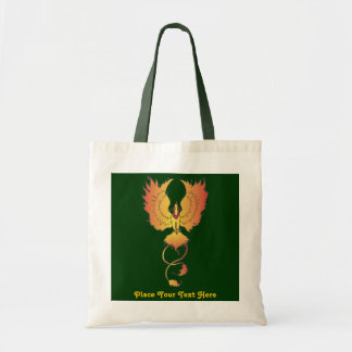 Phoenix Rising Custom Text Bag