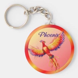 Phoenix Rising Keychain