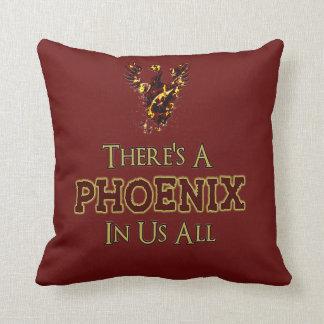 Phoenix Rising Pillow