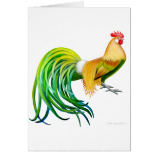 Phoenix Rooster Card
