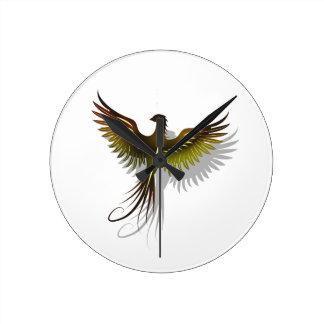 Phoenix Round Clock