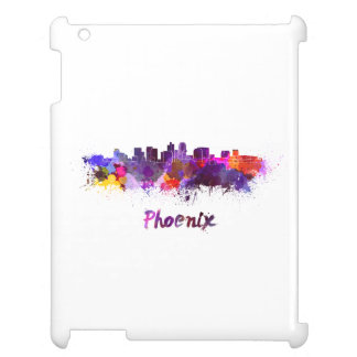 Phoenix skyline in watercolor case for the iPad