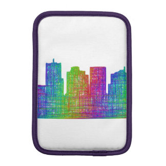 Phoenix skyline iPad mini sleeves