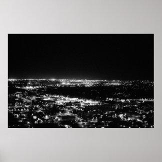 Phoenix Skyline Poster